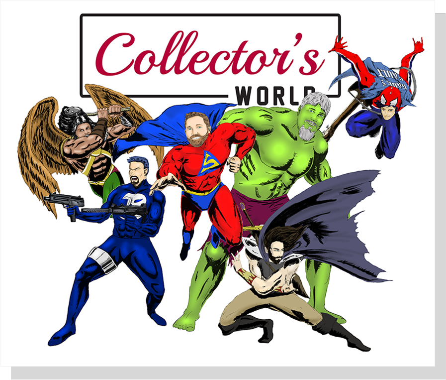 Collector's World Comic Heros