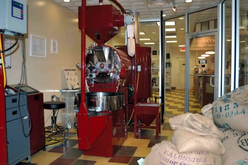 Beanetics Coffee Roasting Machine in the Annandale Shopping Center