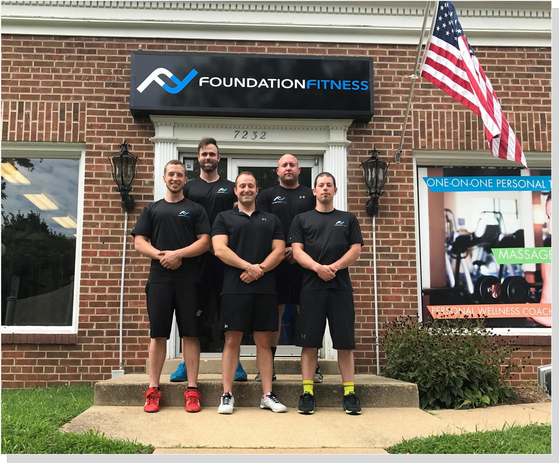 Foundation Fitness, 7232 Columbia Pike, Annandale, VA (across from Walgreen's)