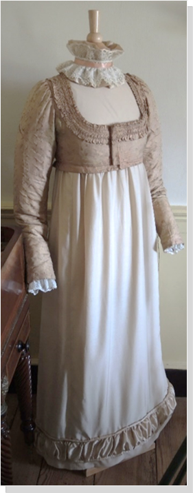 1820 Dress from Fairfax County Park Authority