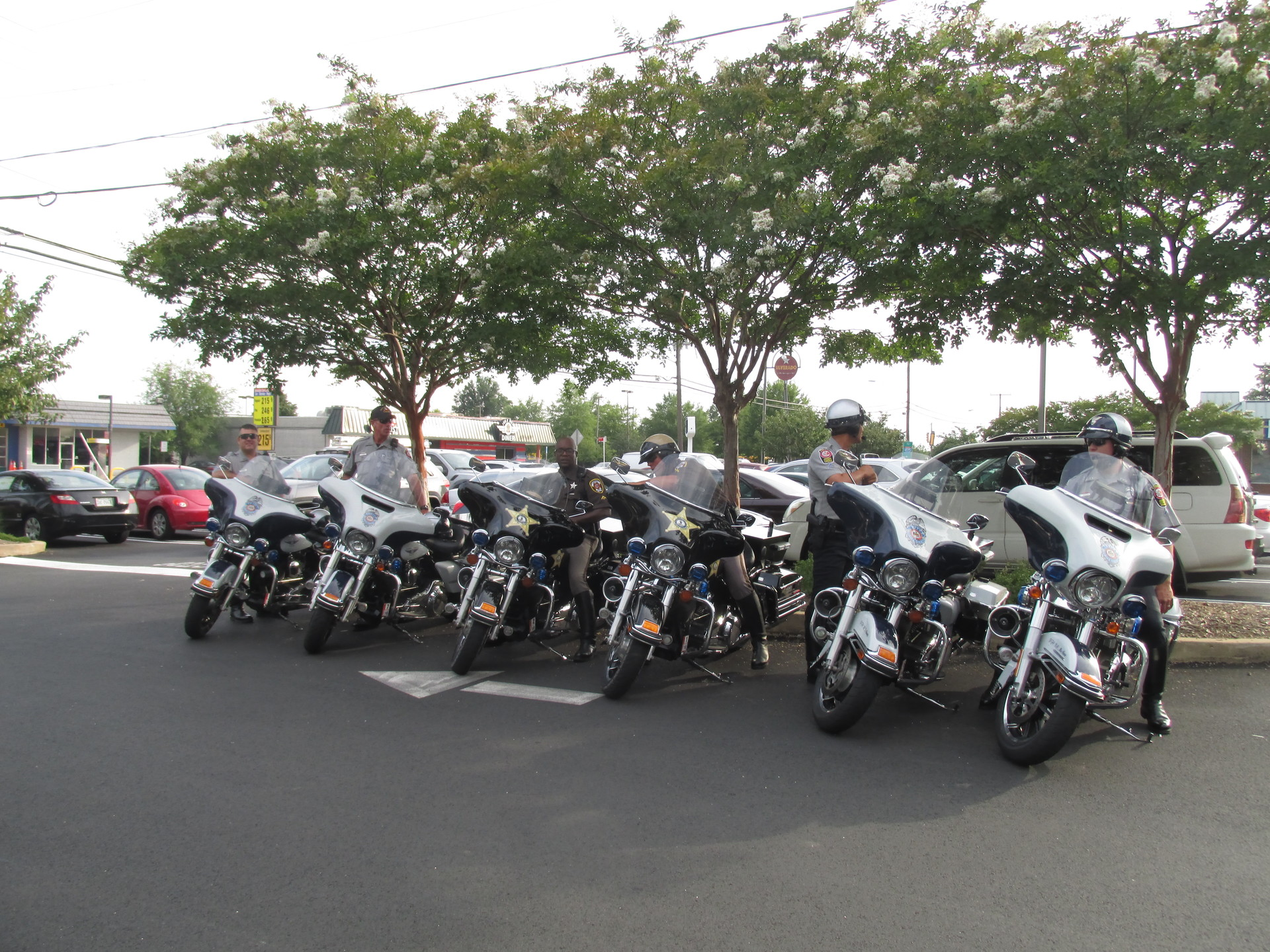 Police Motorcycle Squad