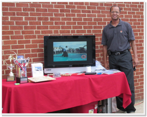 Master Lee of Hapmudo Martial Arts participated in the National Night Out Celebration at the Annandale Shopping Center.
